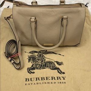Burberry Leather Small Satchel